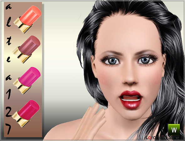 Glamorous lipstick by Altea127 at  Lorandia Sims 3 - photo big