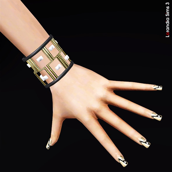 Geometric Bracelet  by Lore at  Lorandia Sims 3 - photo big