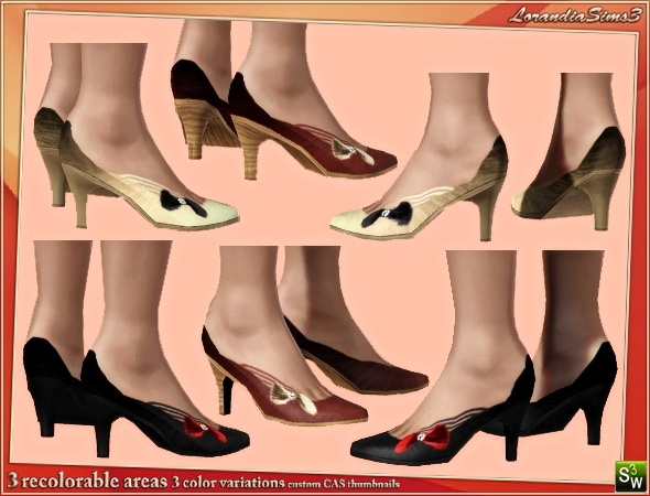 Classic shoes for females by Mirel at  Lorandia Sims 3 - photo big