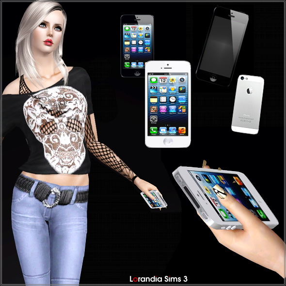 Mobile phone accessory by Lore at  Lorandia Sims 3 - photo big