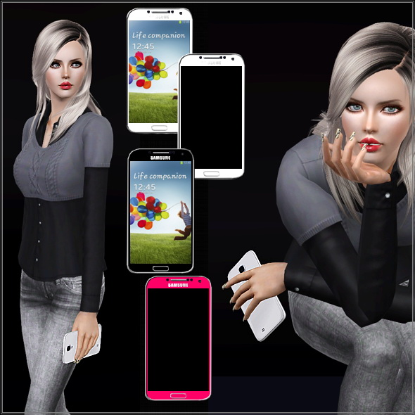 Cell phone accessory by Lore at Lorandia Sims 3 - photo big