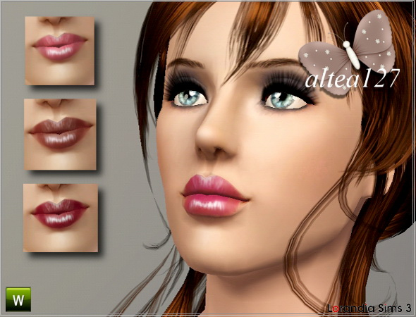 Magnetic lipstick for your Sims3 females by Altea127 at  Lorandia Sims 3 - photo big