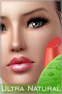 Ultra natural lipstick. 4 recolorable zones, custom cas and launcher thumbnails.