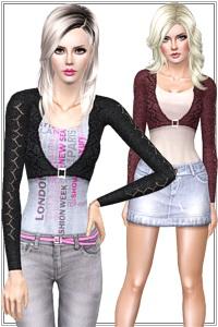 Женская повседневная одежда. LorandiaSims3_Clothing_s_390
