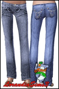 Designer denim. Vintage appearance and comfort of wearing jeans that have the look and feel of years of wear.