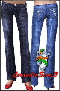 Designer brand denim. Vintage appearance and comfort of wearing jeans that have the look and feel of years of wear.