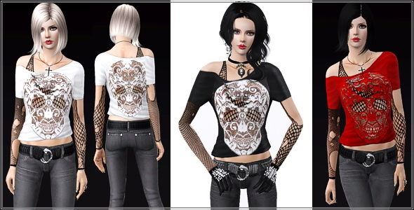 Sims 3 clothes downloads.